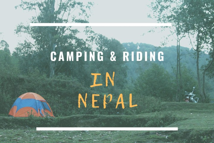 trablogger's_ Camping and riding in Nepal