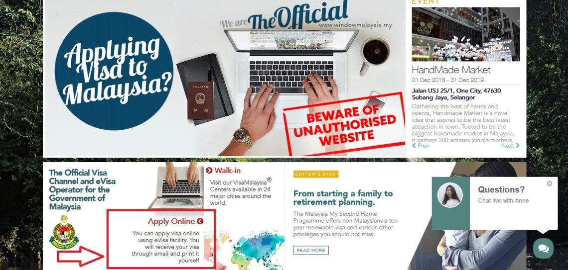 window malaysia page