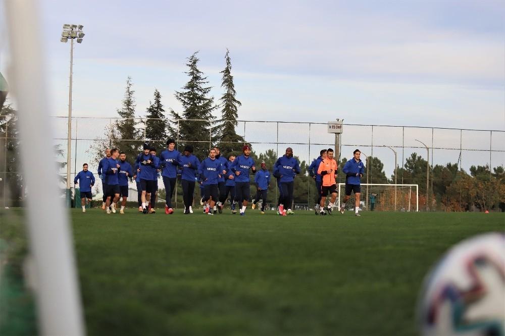 Trabzonspor, Kayserispor maçı hazırlıklarını tamamladı