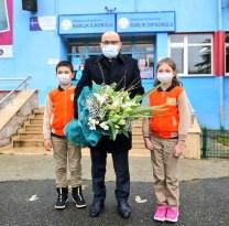 Trabzon'da köy okulu ve ana okullarında yüz yüze eğitime başlanıldı