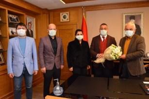 Avrasya Üniversitesi AK Parti Ortahisar İlçe Başkanı Çebi'yi ağırladı