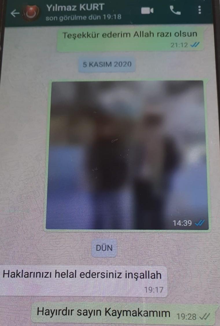 Ölmeden önce Trabzon ve Giresun'daki dostlarına mesaj atıp helallik istemiş