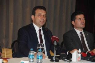 """Ekrem İmamoğlu: """"Tek konsantrasyonum İstanbul'a çok önemli hizmet yapan büyükşehir belediye başkanı olmak"""""""