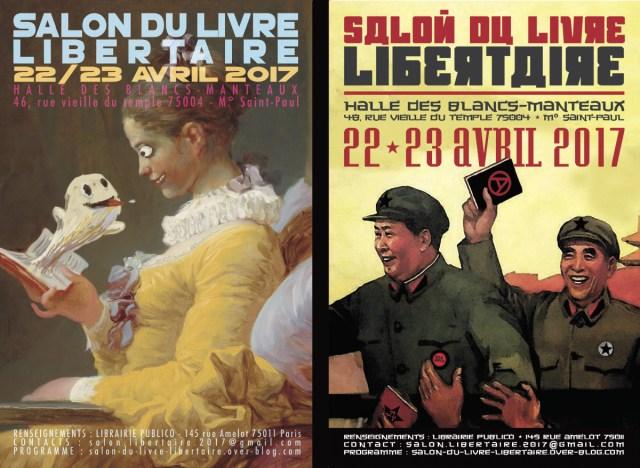 trAce label est partenaire du Salon du Livre Libertaire.