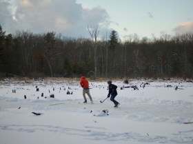 More pond hockey.