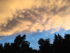 July - Ominously beautiful clouds, Ludlow, MA