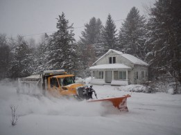 Snow plow — copyright Trace Meek
