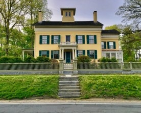 Emily Dickinson's house — copyright Trace Meek