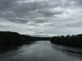 View from a bridge — copyright Trace Meek