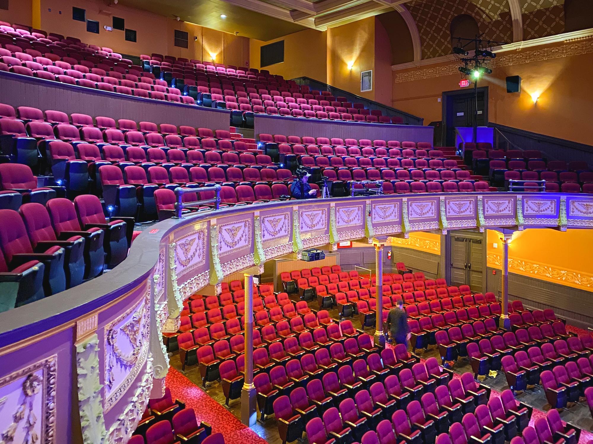 Inside the Academy of Music, Northampton, MA