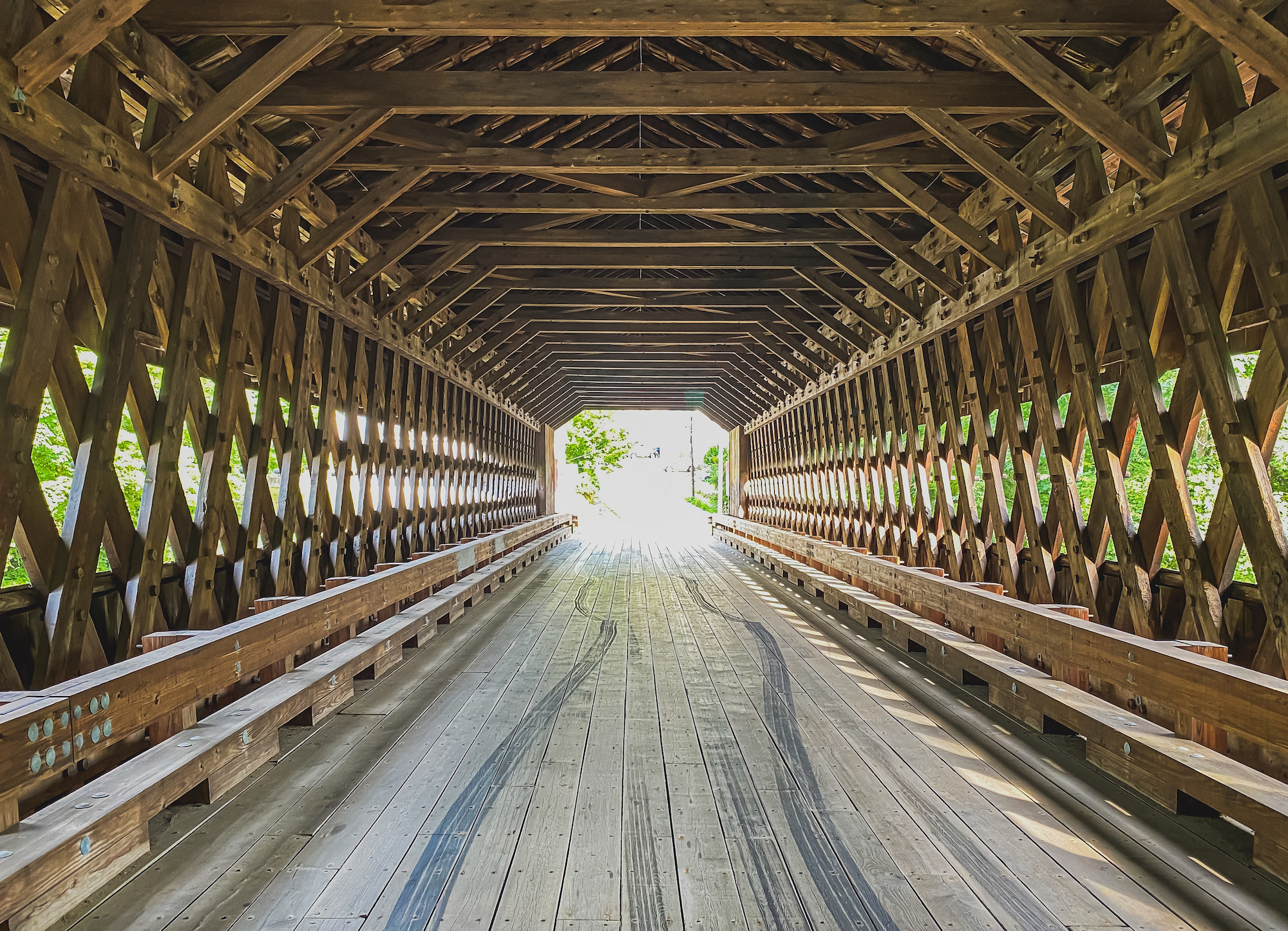 Inside the Covered Bridge, where Testosterone Comes Out to Play