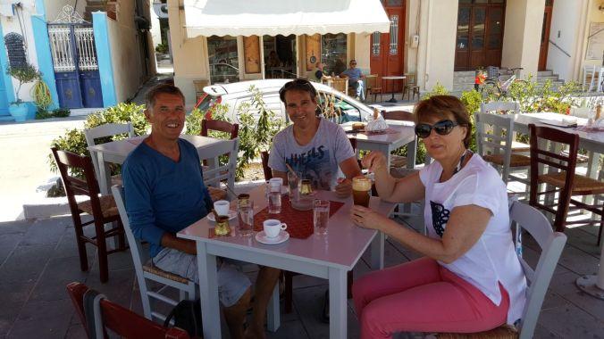 taverne à Poros