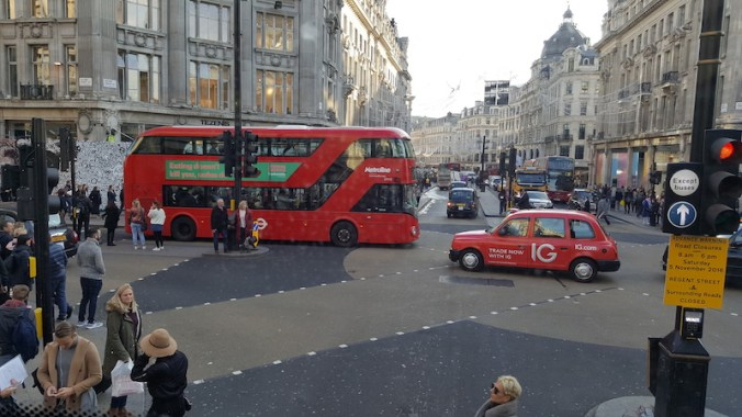 London red bus, London red taxi