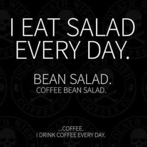 coffee salad