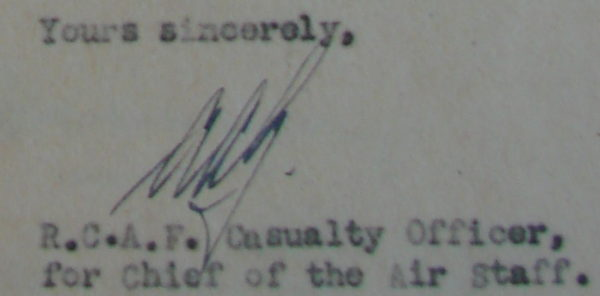 AAG signature on Baldwin letter
