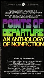 Book cover--points of departure