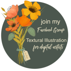 Link to Facebook Group Textured Illustrations for Digital Artists
