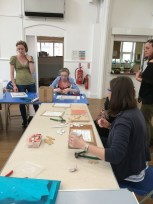 Community workshop - Making Parts of the Mosaic, July 2016