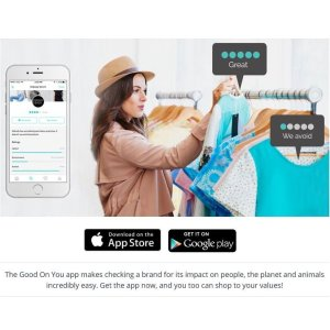 Ethical Shopping App available for mobile phones