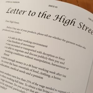 Letter to the High Street