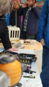 Fixers at Upcycle Kernow Repair Cafe