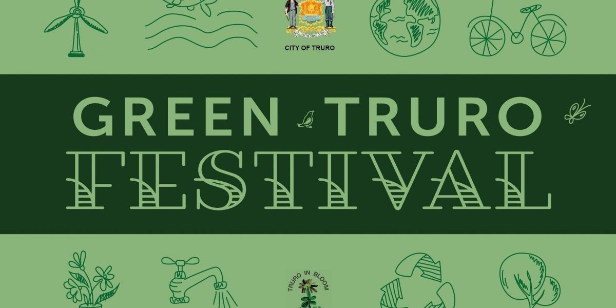 Poster for the Green Truro Festival