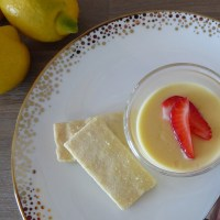 Lemon Posset - three ingredients, one perfect dessert