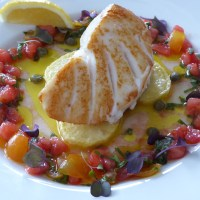 Sauce vierge - perfect in its simplicity