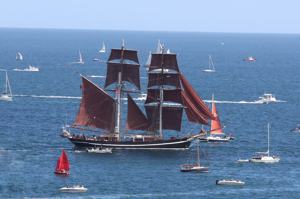 Falmouth Tall Ships Parade of Sail