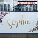 Handpainted Name Wall Art