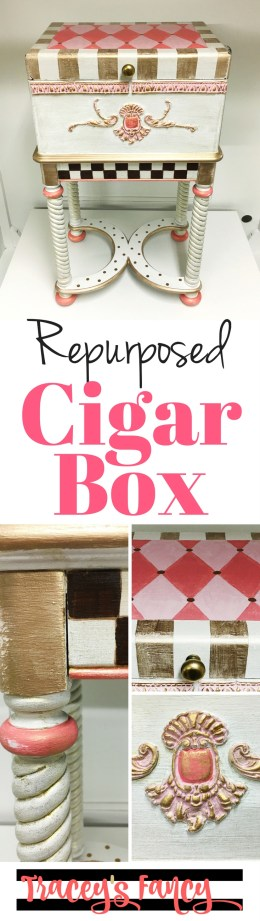 Pin it: Repurposed Cigar Box | Tracey's Fancy