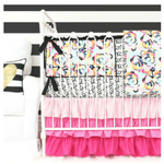 Kinsey's Bright Floral Baby Bedding by Caden Lane