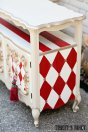 Red Harlequin Painted Furniture