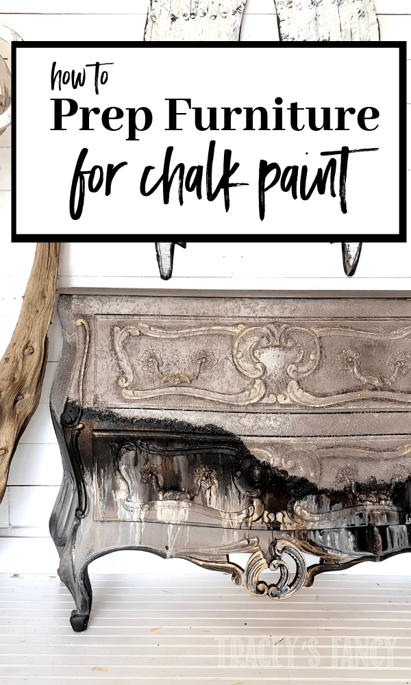 I've been painting furniture for 10+ years & this is my best method for cleaning and prepping furniture so you don't waste time or money making big mistakes with your diy project. This is my guide for how to clean furniture, when to prime furniture, use Slick Stick when painting glossy surfaces. How to Paint Furniture Furniture Painting Tips Tracey Bellion Painted Furniture | How to Prep Furniture Priming Furniture When to Prime Furniture Dixie Belle White Lightning   Best Furniture Primer