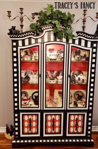 Whimsical China Buffet by Tracey's Fancy