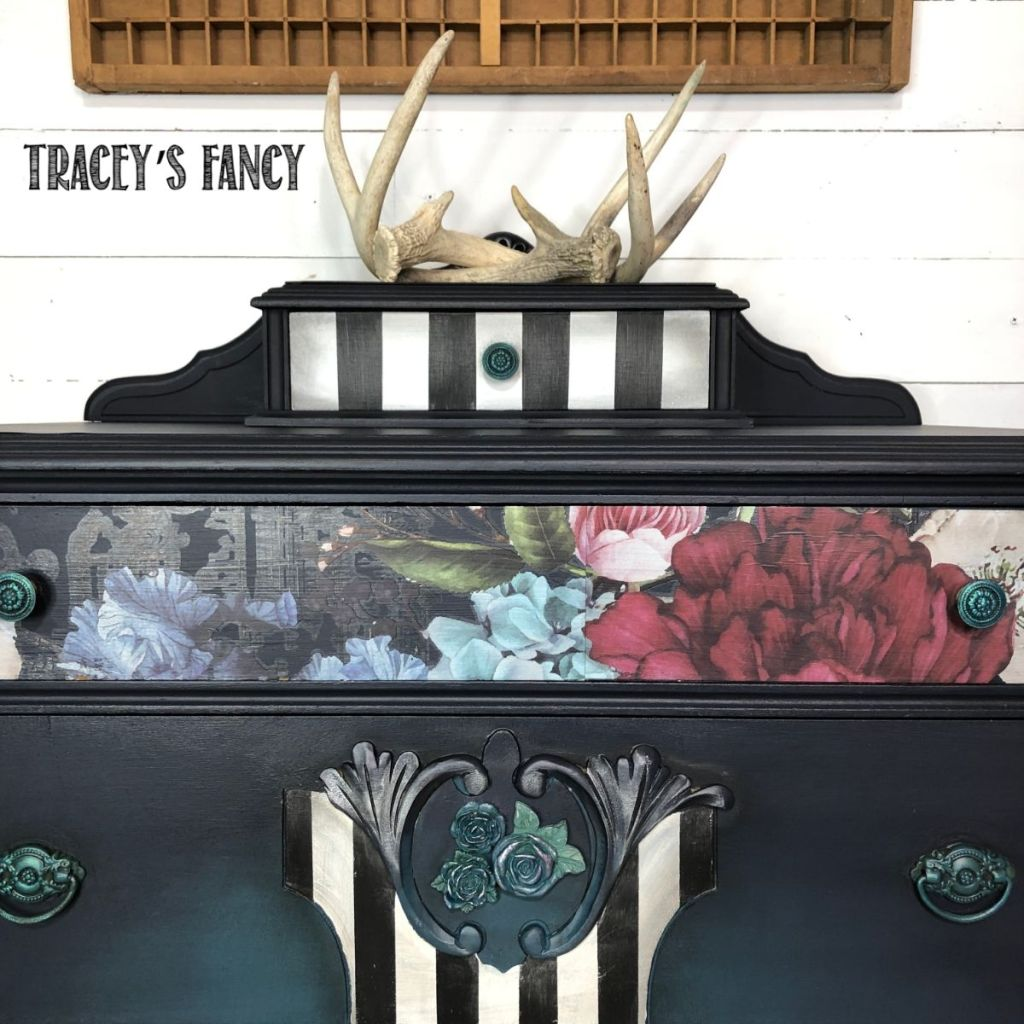 Blue color blended dresser | Tracey's Fancy