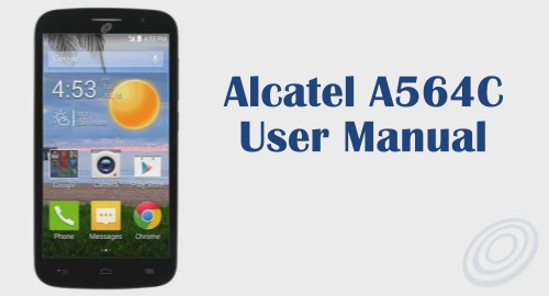 Tracfone Alcatel OneTouch A564C User Manual Guide and Instructions