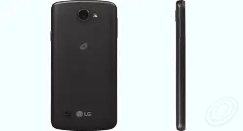 Tracfone LG L44VL Rebel LTE back side