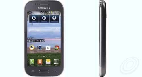 Tracfone Samsung S766C Galaxy Stardust Front Side
