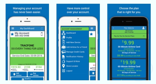 Tracfone Airtime Balance on iPhone