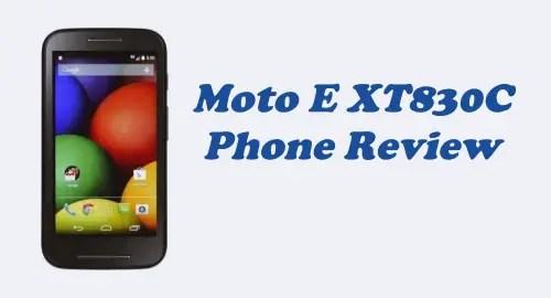 Tracfone Moto E XT830C Review