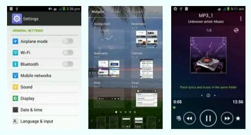 Tracfone ZTE Paragon screenshot