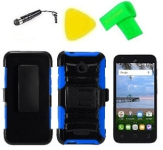 Alcatel PIXI Avion Belt Clip Holster Case by ExtremeCases