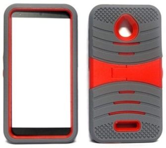 Alcatel PIXI Avion Hybrid Cover Case by Team Wireless