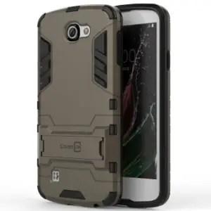 LG Rebel Hard Slim Hybrid Case by CoverON