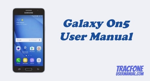 TracFone Samsung Galaxy On5 S550TL User Manual