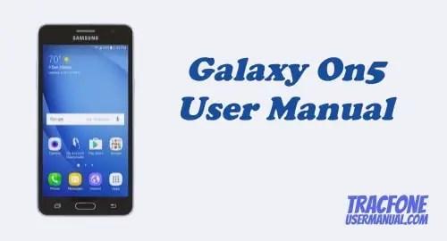 TracFone Samsung Galaxy On5 S550TL User Manual