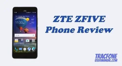 TracFone ZTE ZFIVE L LTE Z861BL / Z862VL