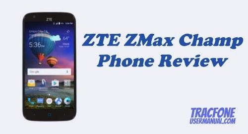 TracFone ZTE ZMAX Champ Z917VL Review
