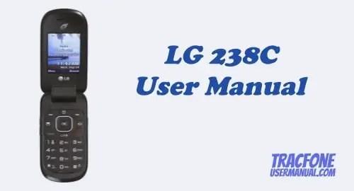 TracFone LG 238C User Manual